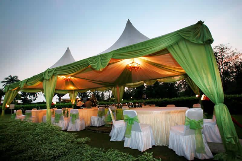 inilah macam tenda untuk pesta pernikahan